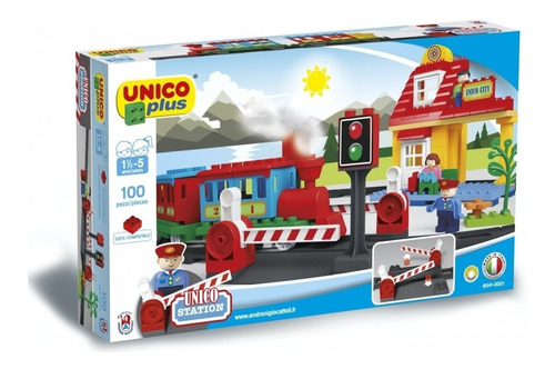 Bloques Unico Plus -ferrovía