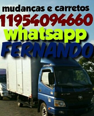 Mudanças E Carretos Frete Montador De Moveis 11954094660