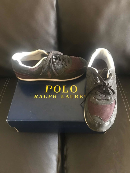 Tenis Polo Ralp Lauren Originales 9 Mex 11 Usa Cómo Nuevos