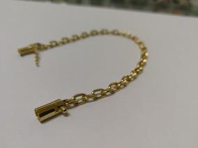 Pulseira De Ouro Cartier Fecho Canhão Maciça 10.7g / 20cm