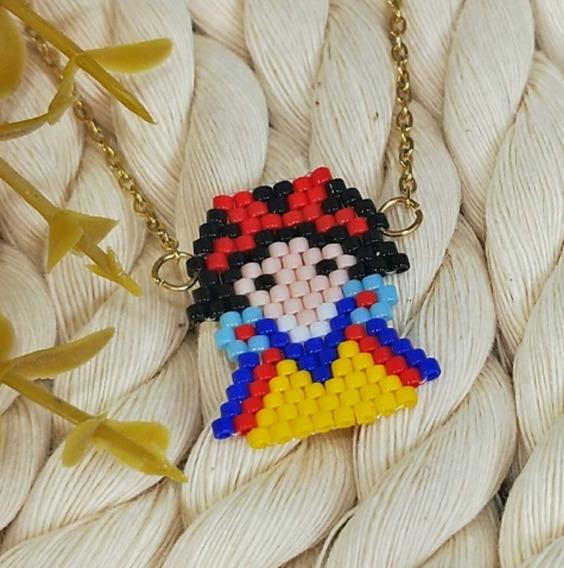 Collar Miyuki Princesas Disney Para Niña