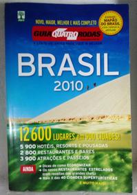 Guia Quatro Rodas Brasil 2010 12600 Lugares 900 Cidades