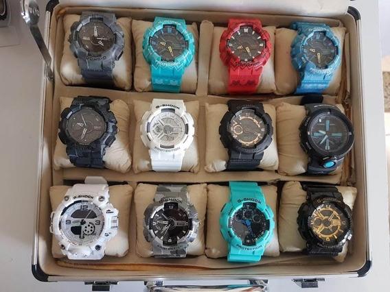 Kit 6 Relógios Para Revenda Masculino E Feminino Sortido