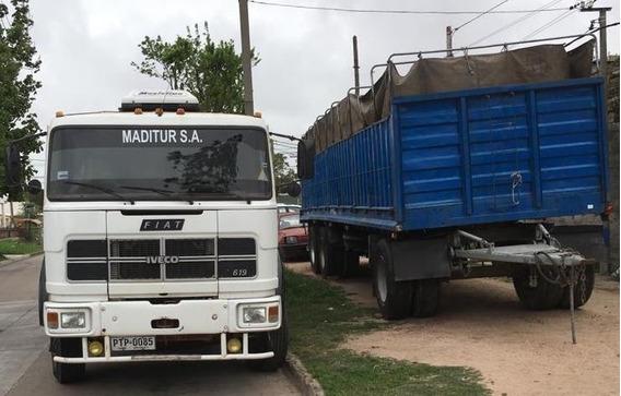 Vendo O Permuto Camión Iveco Con Zorra