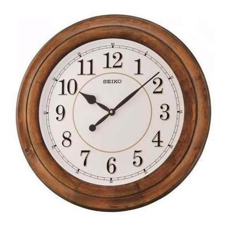 Reloj De Pared Seiko Qxa639b   Original   Envío Gratis