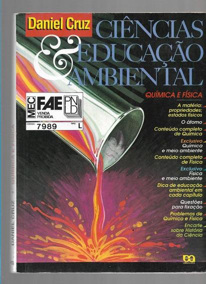 Ciências Educação Ambiental Daniel Cruz Livro Química Física