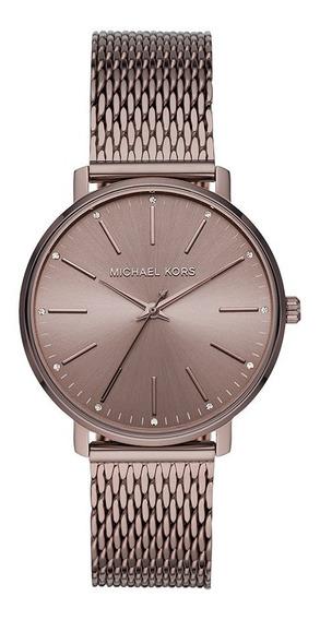 Relógio Michael Kors Feminino Marrom Mk4538/1mn