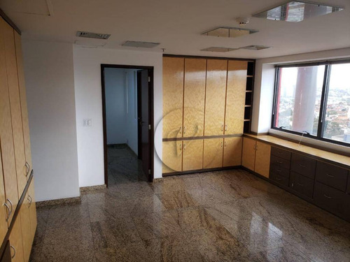 Sala À Venda, 38 M² Por R$ 234.000 - Paraíso - Santo André/sp - Sa0651