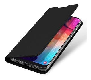 Case Galaxy A50 | Flip Dux Capa Carteira Original Cartao