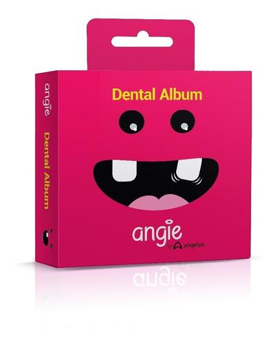Imagem 1 de 5 de Porta Dente De Leite / Dental Album Premium Angie - Rosa