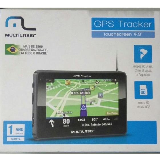 Gps Multilaser Tracker 2 4,3 Slim Gp011
