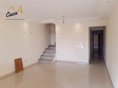 Sobrado Com 3 Dormitórios À Venda, 129 M² Por R$ 580.000,00 - Vila Nhocune - São Paulo/sp - So0483
