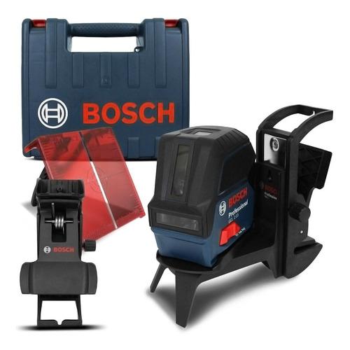 Nível A Laser Gcl2-15 Bosch Vermelho Profissional Com Maleta