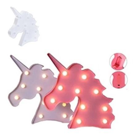 Luminoso Led Unicórnio Luminária Abajur Decorativo Ebefeite