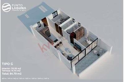 Condo Suite Tipo G #1207 Con Vista A La Ciudad En Punto Laguna