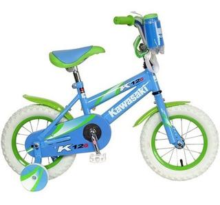 Bicicleta Para Niños Con Ruedas De Entrenamiento De 12