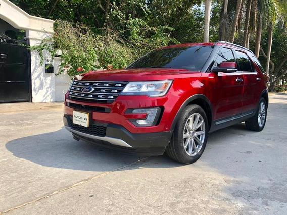 Ford Explorer Limited 2017 Automática Gasolina