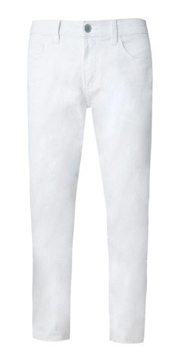 Calça Jeans Masculina Branca Calça Branca Tng 12x S/juros