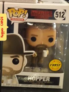Funko Pop Hopper Chase + Otros
