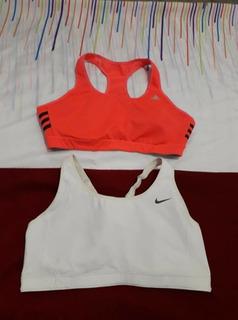 2 Tops adidas Y Nike Talla L Mujer No Under Armour Puma