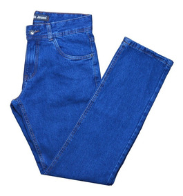 Calça Jeans Masculina Tradicional Nº 36 Ao 56 Malha Grossa