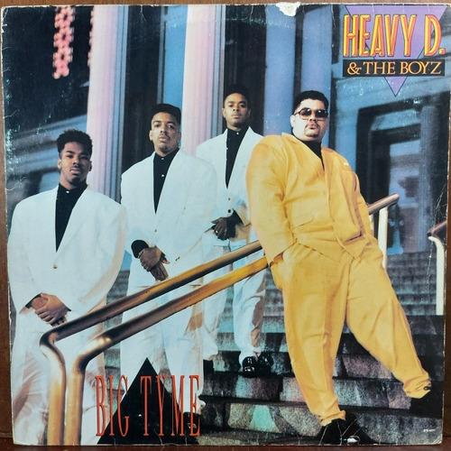 Vinil Lp Heavy D E The Boyz Big Tyme