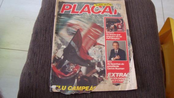 3 Revistas Placar Anos 1980
