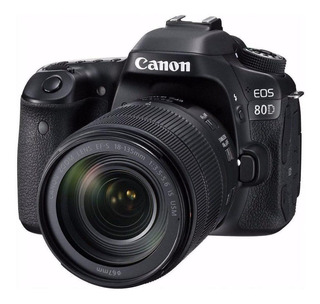 Canon EOS 80D 18-135mm IS USM Kit - Negro