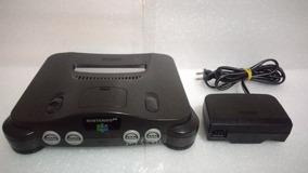 Nintendo 64 + Fonte Original Funcionando 100%