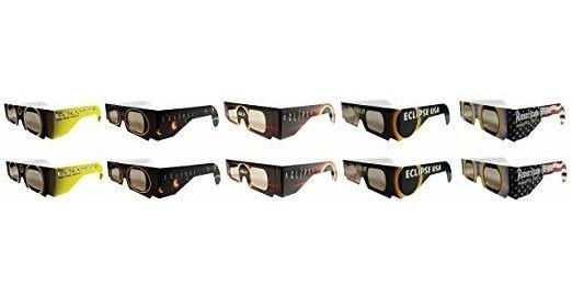 Eclipse Glasses - Ce Seguro Certificado Solar Eclipse Glasse