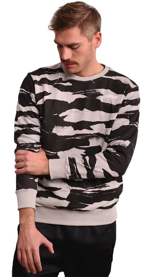Buzo adidas Essentials Argentinia Allover Printed Crewneck-d