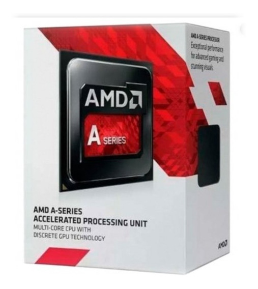 Processador Cpu Amd A6 7480 A Series Fm2+ 7th Gen 2 Core