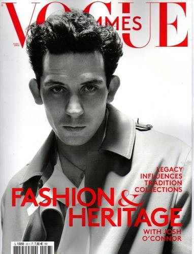Revista Vogue Hommes Paris Spring-summer 2021