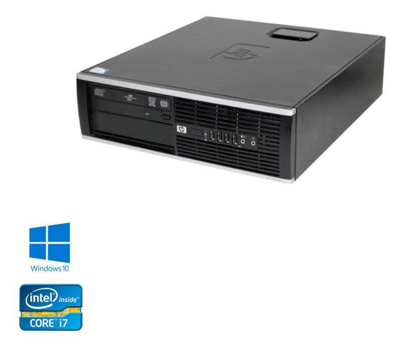 Desktop Hp 8300 Intel Core I7 4gb Hd 2tb Windows 10 Wifi
