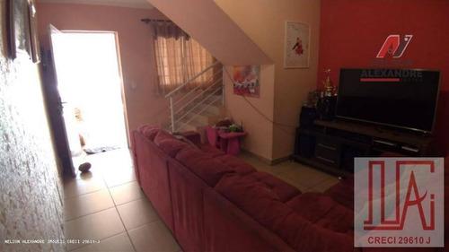 Sobrado Com 2 Dormitórios À Venda, 88 M² Por R$ 430.000,00 - Presidente Altino - Osasco/sp - So0011