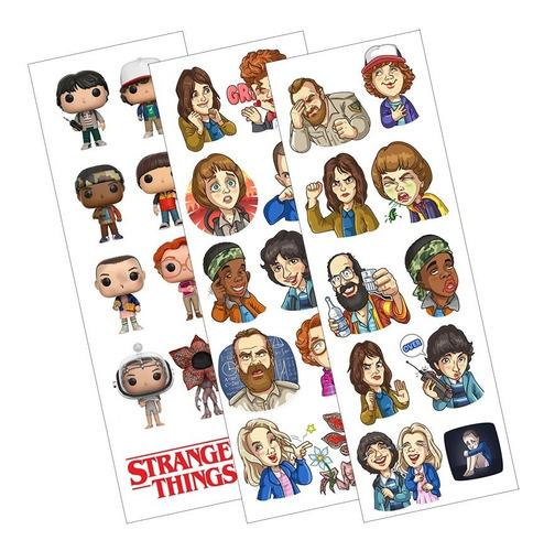 Plancha De Stickers De Series Stranger Things Netflix Eleven