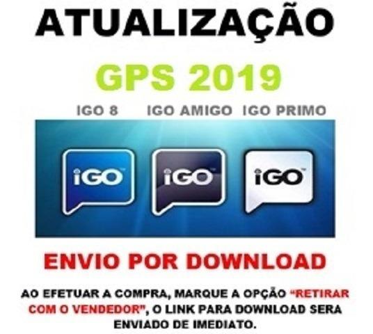Atualização Gps 2019 Igo8 + Amigo + Primo + Menu Here Q4
