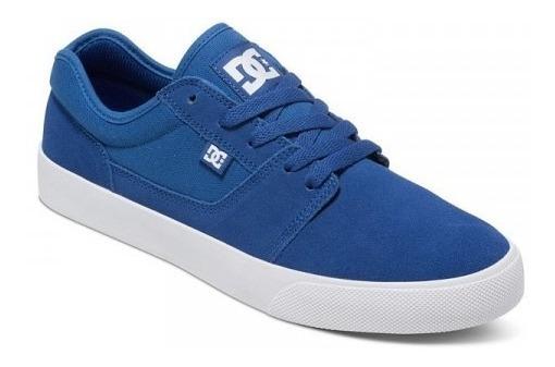 Dc Zapatillas Hombre Tonik Azul Francia Fkr
