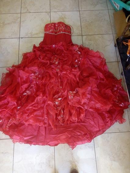 Vestido De Xv Años Rojo