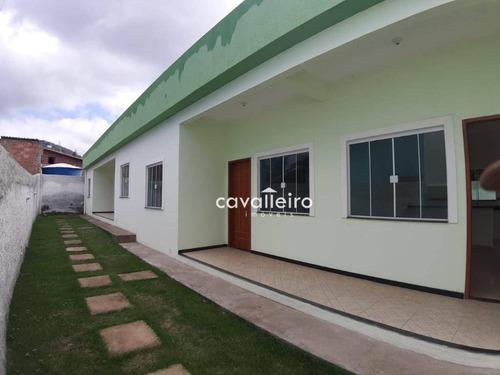 Casa Com 1 Dormitório À Venda, 45 M² - São José Do Imbassaí - Maricá/rj - Ca3857