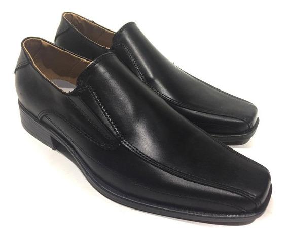 Zapatos Hombre Negro Oficina Fiesta Vestir Eco Cuero Sommet