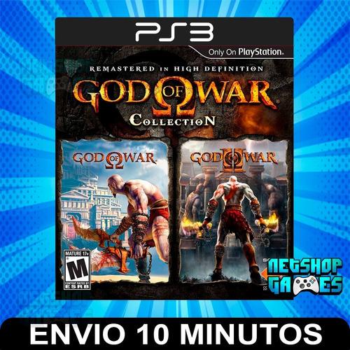 God Of War Collection 1 Y 2 - Ps3 Digital - Español