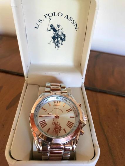 Relógio Us Polo Assn -usc 40118az-original