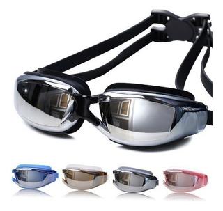 Óculos Natação Profissional Espelhado Antiembaçante Promoção