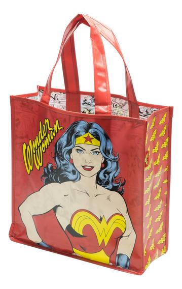 Sacola Ecobag Dc Comics Mulher Maravilha