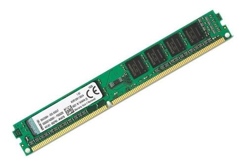 Imagem 1 de 1 de Memória Ram Kingston 4gb Ddr3 1600mhz 1.5v Para Computador