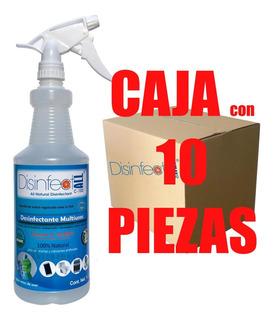 Desinfectante Multiusos Natural Antivirus, Antibacterial 10