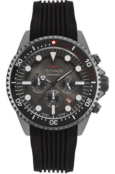 Relógio Masculino Technos Skymaster Grafite Js25cc/8p