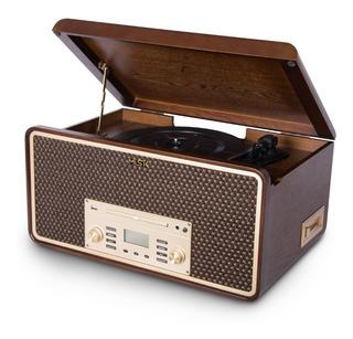 Tornamesa Vinilo Bt Reproduce Usb Cd Cassette Misik Mn 7910