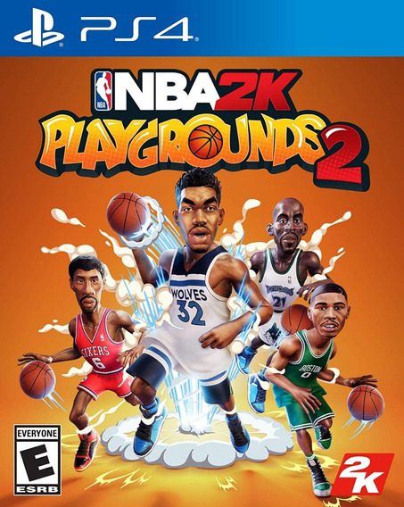 Nba 2k Playgrounds 2 - Ps4 - Mídia Física